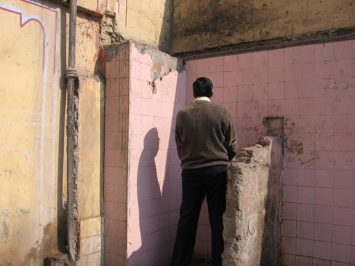 Джайпур. Общественный туалет на улице